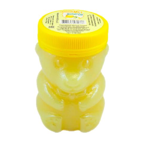 Мёд натуральный «Липовый» ПЭТ медведь, 450 гр