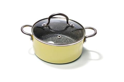 4239 FISSMAN Mini chef Кастрюля 16 см / 1,3 л с крышкой