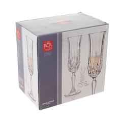 Набор фужеров для шампанского RCR Opera 130мл (6 шт), фото 2