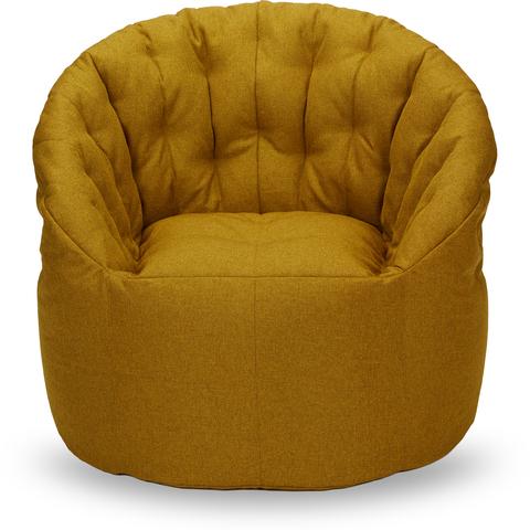 Бескаркасное кресло «Австралия», Горчичный