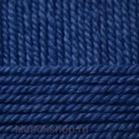 Пряжа Зимний вариант (Пехорка) 571 Синий - купить в интернет-магазине недорого klubokshop.ru
