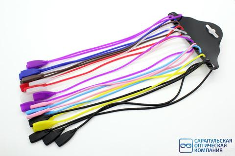 Шнурки (Резинки) силиконовые для очков 12 шт.