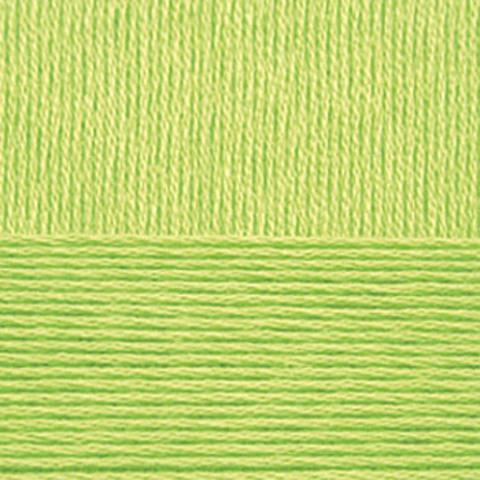 Пряжа Хлопок натуральный (Пехорка) 483 Незрелый лимон, фото