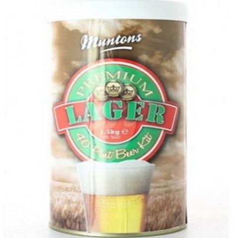 Пивной набор Muntons Premium Lager, 1,5 кг на 23 л