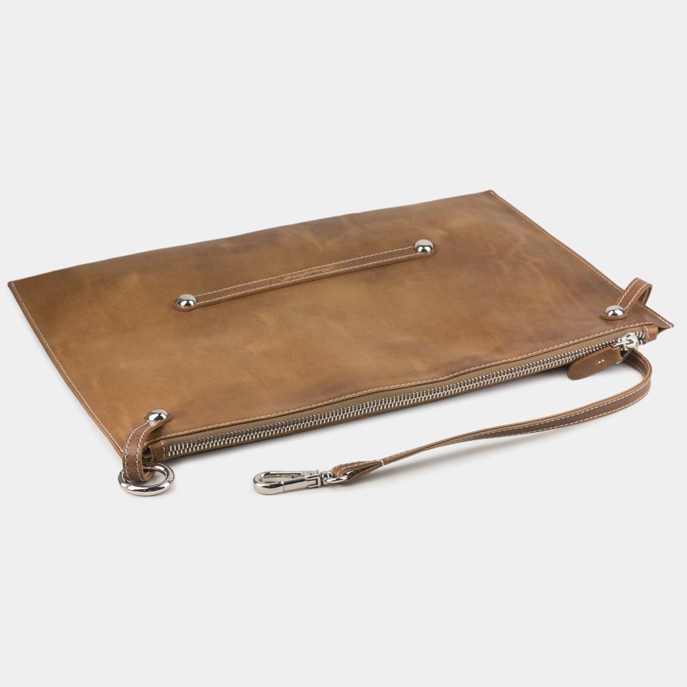 Женская сумка Tereze Easy из натуральной кожи теленка, цвета винтаж