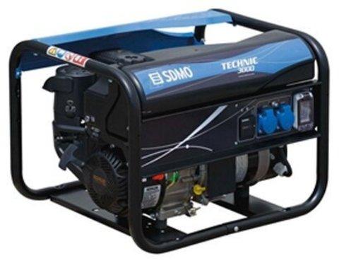 Кожух для бензиновой электростанции SDMO Technic 3000