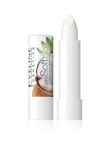EVELINE Бальзам для губ Coconut EXTRA SOFT bio