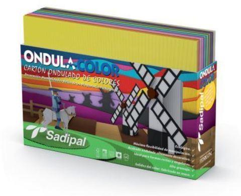 Набор гофрокартона  Sadipal в листах 32x24см цвет разноцветный 10 листов в упаковке