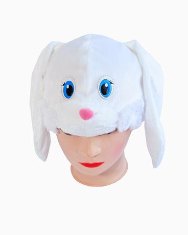 Купить Маска-шапочка Белого Зайца - Магазин