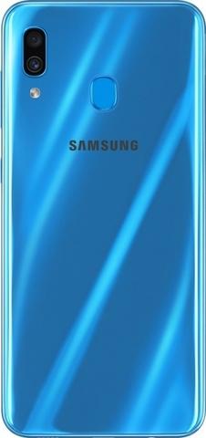 Смартфон Samsung Galaxy A30 64GB (Синий)