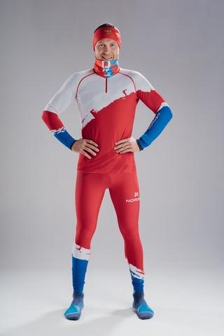 Гоночный костюм Nordski Jr.Premium Red Rus подростковый