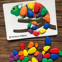 Набор Радужные камешки с карточками заданий А4 Edx education 13206