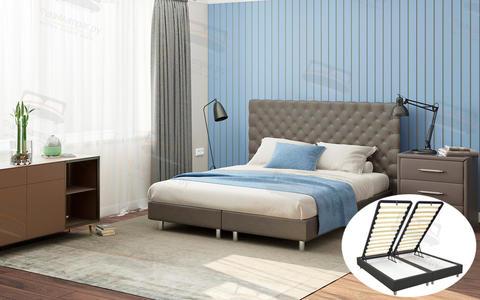 Кровать Proson Paris Boxspring Lift с подъемным механизмом и ящиком