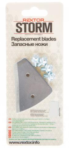 Ножи Rextor Storm для шнеков и ледобуров Mora Ice Micro, Arctic, Expert Pro
