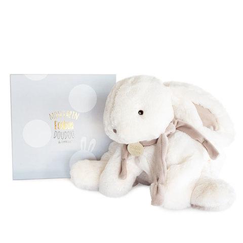 Doudou et Compagnie. Кролик пижамница бежевый 45 см из коллекции BON BON