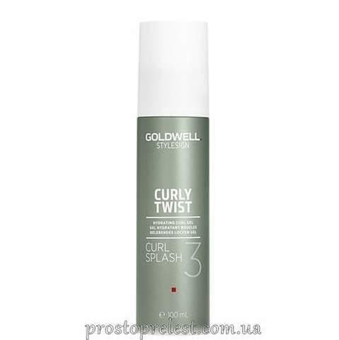 Goldwell StyleSign Curly Twist Curl Splash Hydrating Curl Gel - Гідрогель для створення пружних локонів