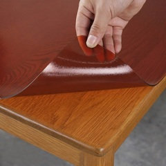 Гибкое стекло коричневое ширина 80 см.