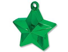 Грузик д/шара Звезда зеленая 170гр/A