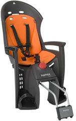 Детское велокресло с наклоном Hamax Siesta с замком Серый/Оранжевый