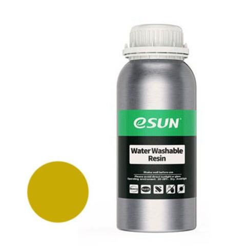 Фотополимер ESUN Water Washable желтый (0,5 л)