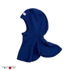 Шлемик ManyMonths, Синий (шерсть мериноса 100%)