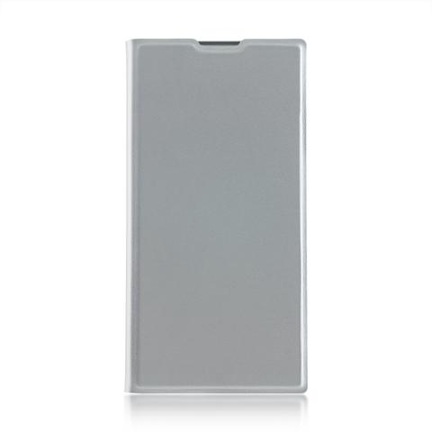 Чехол-книжка для Xperia XA2 Ultra серебристого цвета