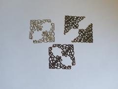 Уголок металлический ажурный, 4,8 см, 1 шт.