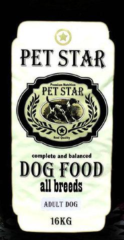PET STAR Puppy Сухой корм для щенков средних и крупных пород 16 кг.