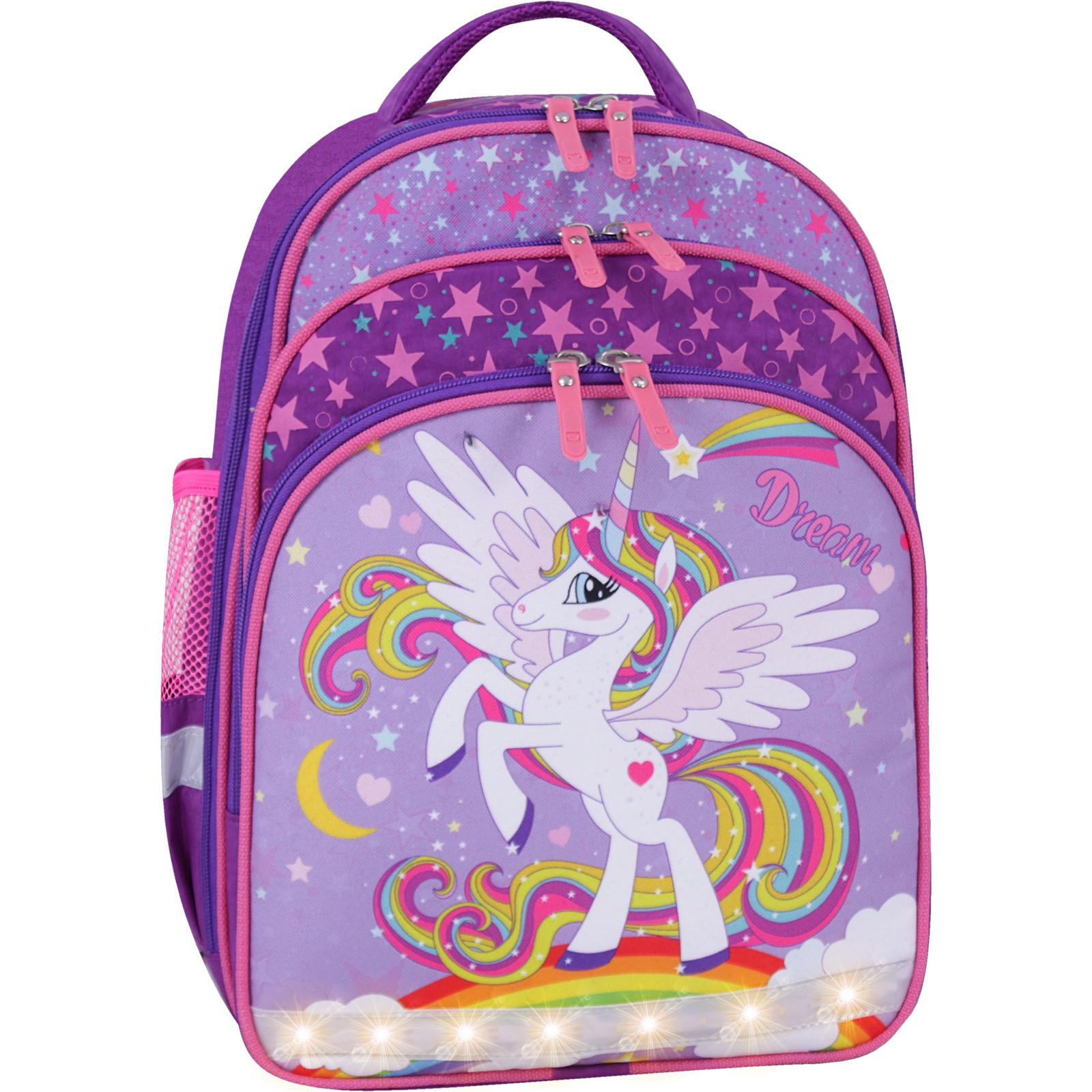 Рюкзак школьный Bagland Mouse фиолетовый 674 (00513702)