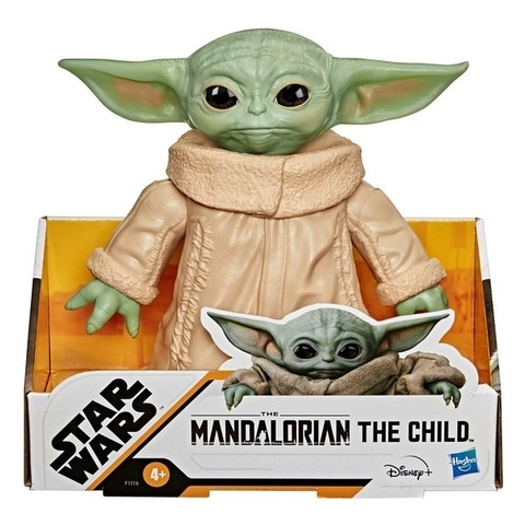 Фигурка Star Wars Mandalorian Baby Yoda (The Child) Posable Action Figure