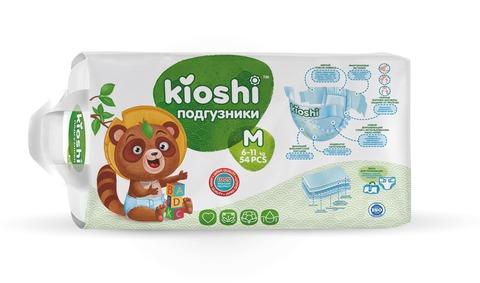 Подгузники Kioshi,  6-11 кг (M)