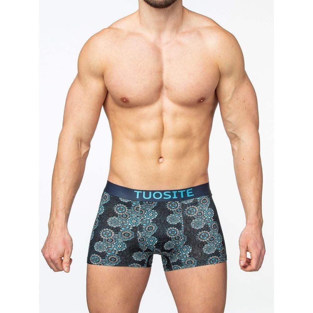 Мужские трусы-боксеры синие с принтом TOUST TS7802-1