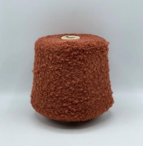 Filati BE.MI.VA (пр.Италия), art-MARION 300м/100гр, 30% мохер 30% альпака 24% вискоза 6% полиамид , цвет- Терракот  ,арт.10190
