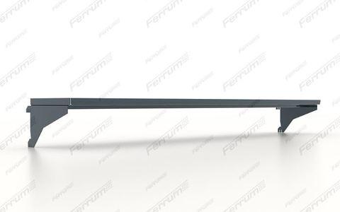 Полка навесная 685х195х20h мм., для инструментальных панелей верстака, серия