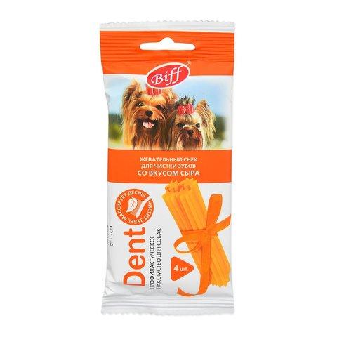 Titbit Dent Лакомство для собак мелких пород жевательный снек со вкусом сыра