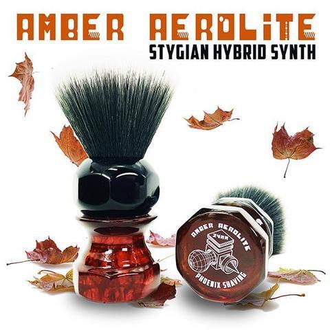 Помазок Phoenix Amber Aerolite 24mm