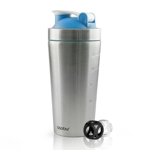 Шейкер Asobu Shake it baby (0,8 литра), голубой