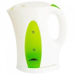 Чайник электрический 1л Эльбрус-3 белый с зеленым