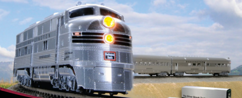 Модель поезда Kato Zephyr