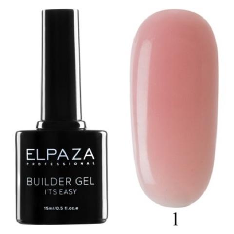 Моделирующий гель Builder Gel it's easy Elpaza, 15ml - 1