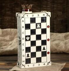 Штоф с рюмками «Шахматы», 7 предметов 0,75 л, фото 2