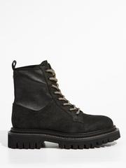 Замшевые ботинки Tuffoni 1020181 на меху