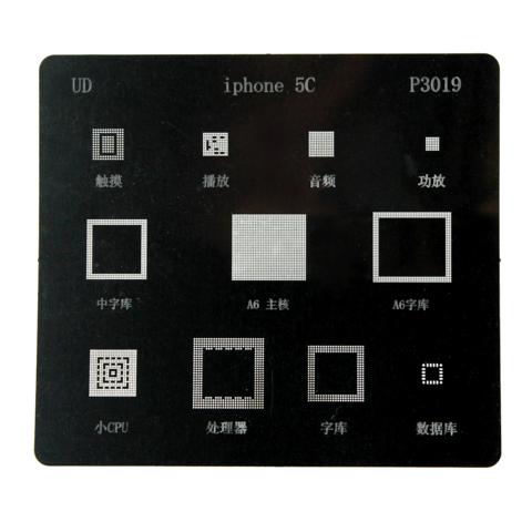 Трафарет BGA iPhone 5С
