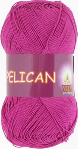 Пряжа Pelican (Vita cotton) 4002 Цикламен