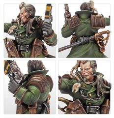 Necromunda: Kal Jericho and Scabs