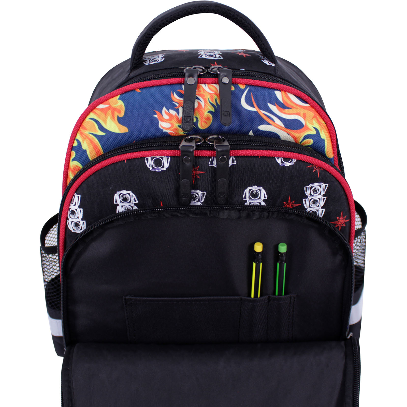 Рюкзак школьный Bagland Mouse черный 500 (0051370) фото 4