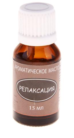 Аромамасло высокой концентрации Релаксация Aromacology 15 мл