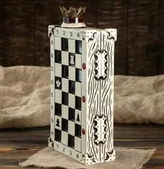 Штоф с рюмками «Шахматы», 7 предметов 0,75 л, фото 3