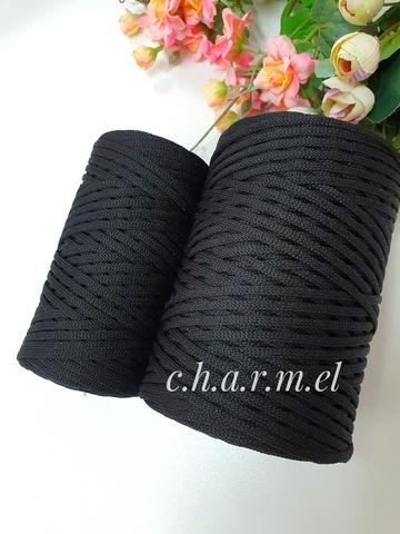 Морион Лайт 3 мм  Полиэфирный шнур с люрексом