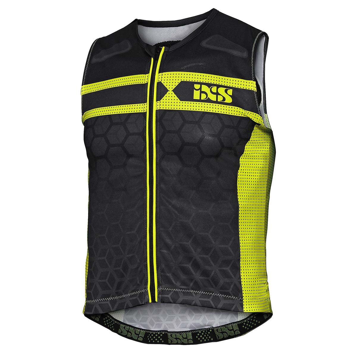 IXS VEST PROTECTOR RS-20 black/green